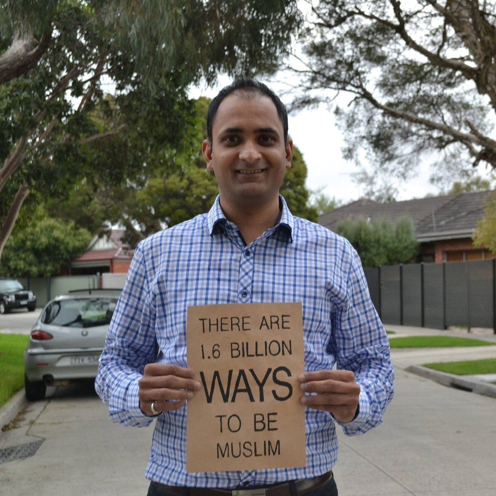 For me, being Muslim wasn't a choice. I was born Muslim. Even if it was a choice, I wouldn't choose another. Being Muslim means being connected to my family - Arif