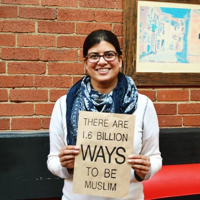 Being Muslim means being part of a diverse and inspiring community, working together for greater respect, understanding and equality in society. It means recognising the beauty and fragility of all Allah's creations. It reminds me to be grateful each day and brings me comfort in difficult times - Nadia