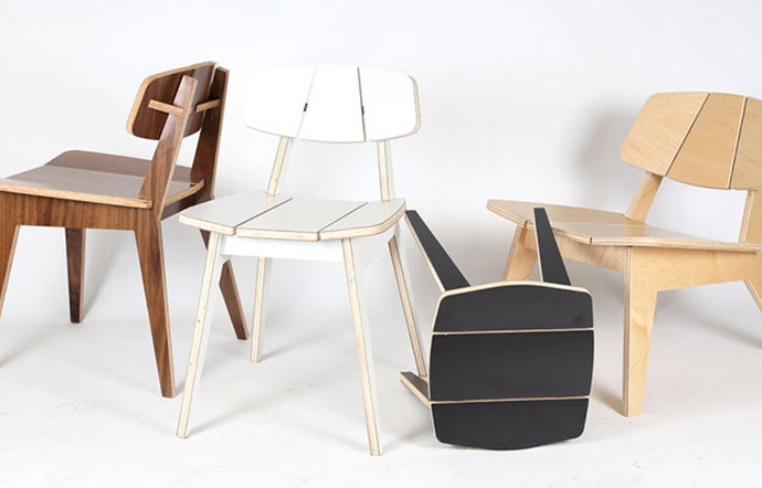 The P9 Chair designed by Alejandro Palandjoglou