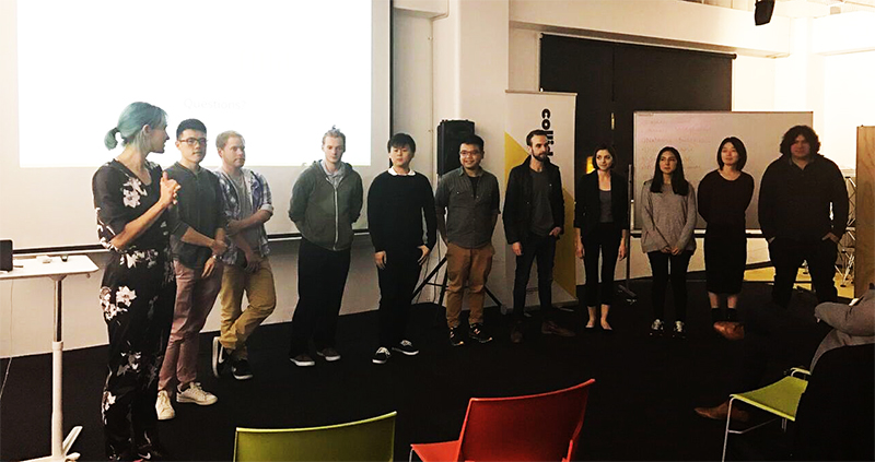 Entrepreneurial Programme Pitch Night. Read the full medium post about the program here.