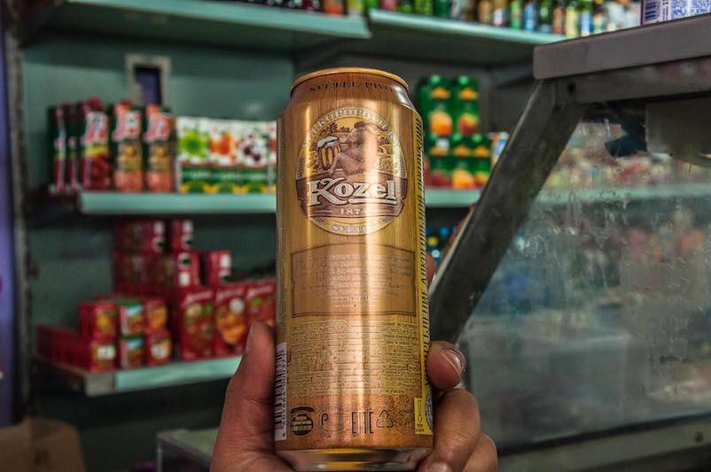 Beer 2x ukuran normal sekali tenggak ludes. KZL!