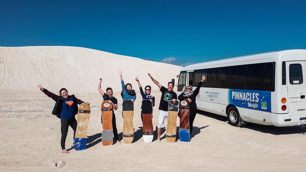 Sand Boarding Lancelin