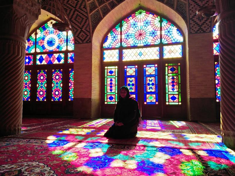 Nasr Al Mulk, Yazd. Pic Miss_Yane.