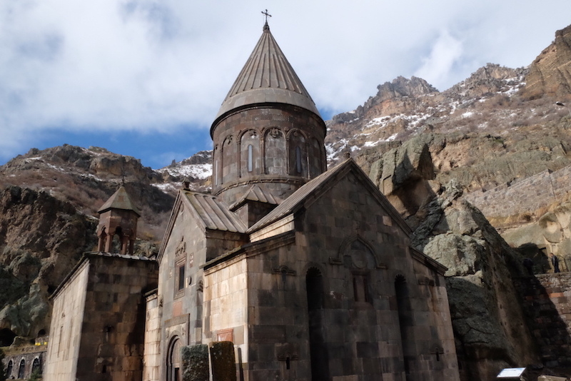 Geghard, Armenia. Pic Anindithodimask.