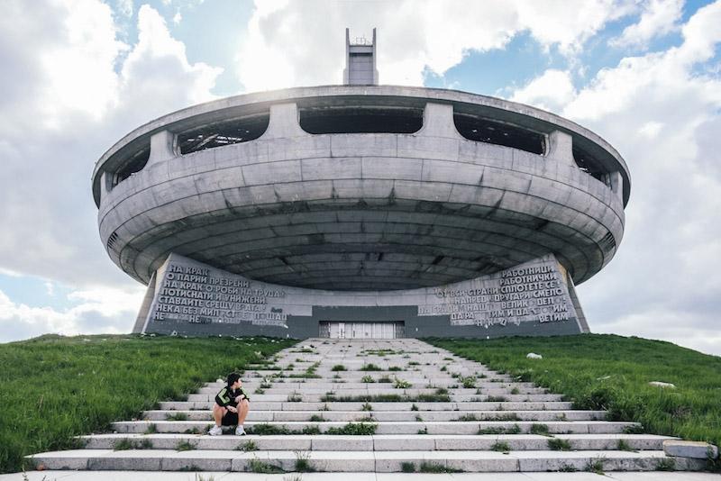 Buzludzha Monument, Kran. Pic Atlas Obscura