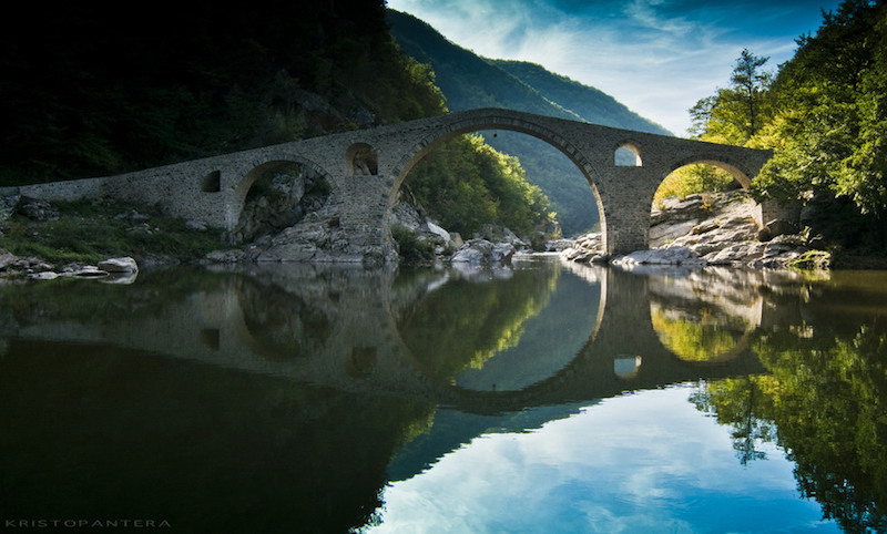 Devil's Bridge, Nedelino. Via Atlas Obscura