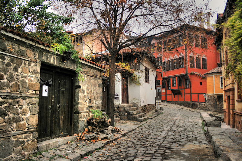 Plovdiv Old Town. Pic Google