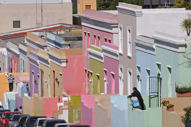 Bo Kaap, Cape Town. Pic Atlas Obscura