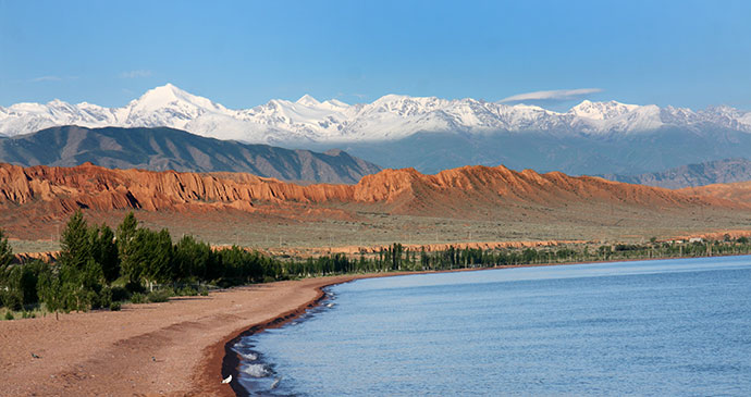 Kyrgyzstan road trip