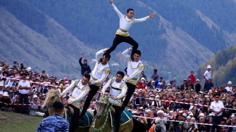 Kyrgyzstan world nomad games