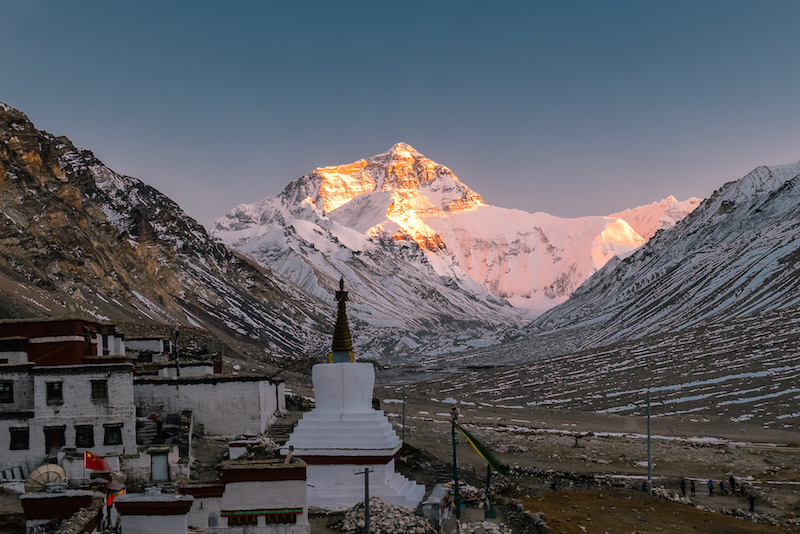 tibet everest tour