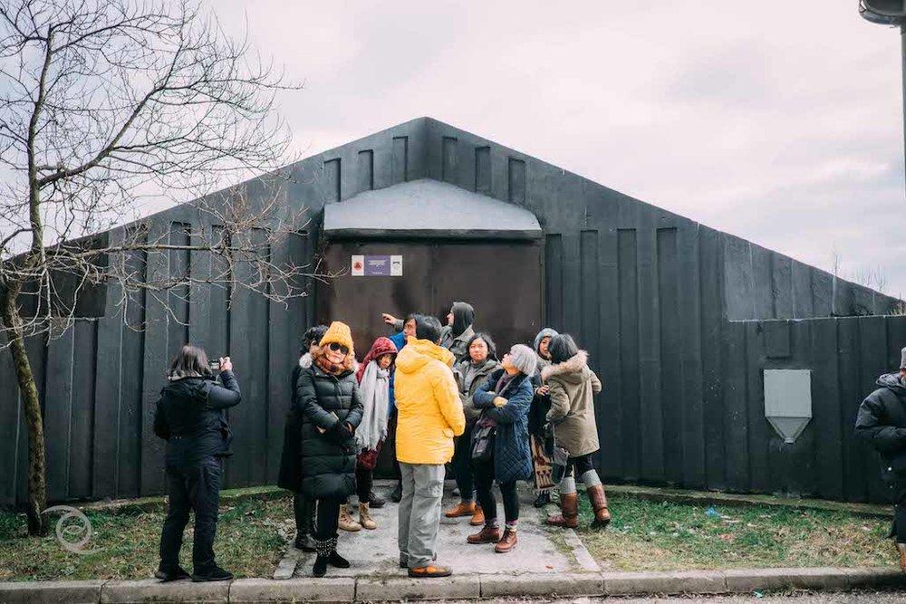 Bomb Shelter anti nuklir yang dibangun pada pemerintahan Yugoslavia.