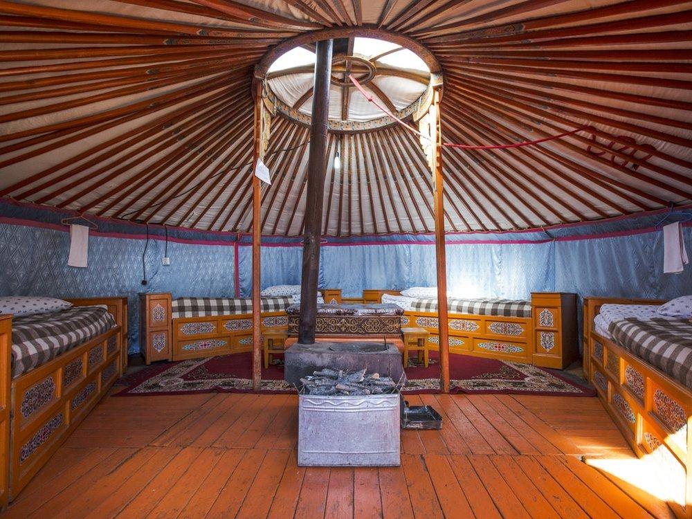 Mongolia Gorkhi Terelj National Park Traditional Yurt Ger Camp Interior Beds - Oana Dragan 2017 _MG_4022 Lg RGB.jpg