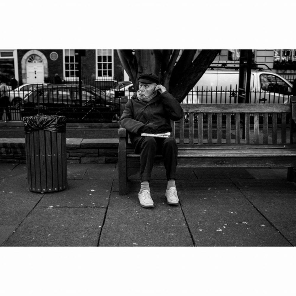 Bench, London - January 2017