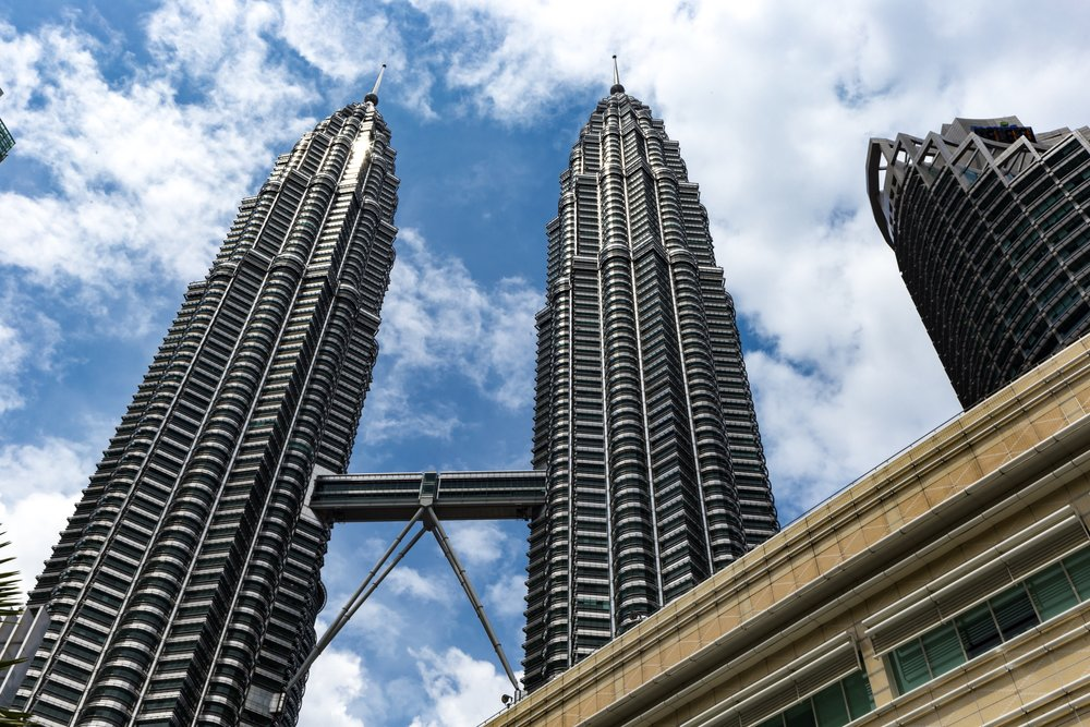 KLCC   Kuala Lumpur City Centre has become a symbol of Southeast Asia, with the 88-stores Petronas Tower rising in the centre of a luxury and world-developed neighbourhood.