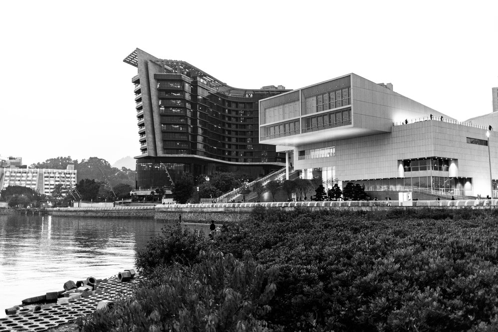 Arts Center and Hilton Shenzhen
