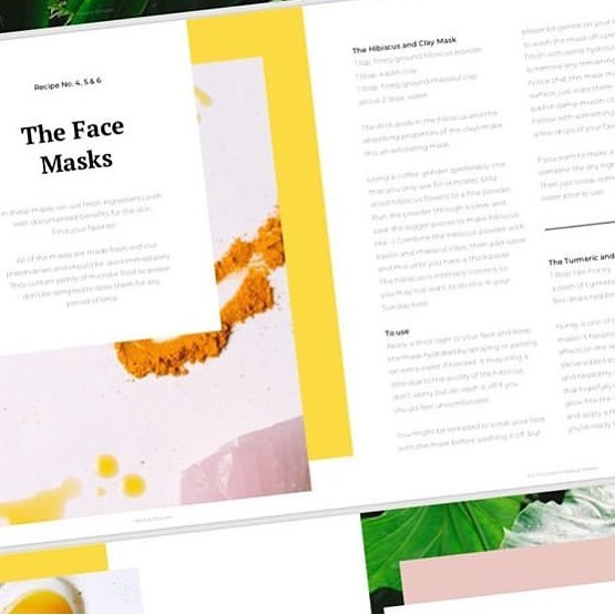Hey there skincare friends! Nena at @bareoriginskin and I have updated our DIY skincare e-book with a few important changes and two new recipes. Read more and download from the link in my bio. I hope you're having a happy holiday weekend! 💚 Thank you @linnbeyerbock for the layout and this pretty screen shot 😘  #diyskincare #homemadeskincare #greenskincare #organicskincare #diybeauty #greenbeauty