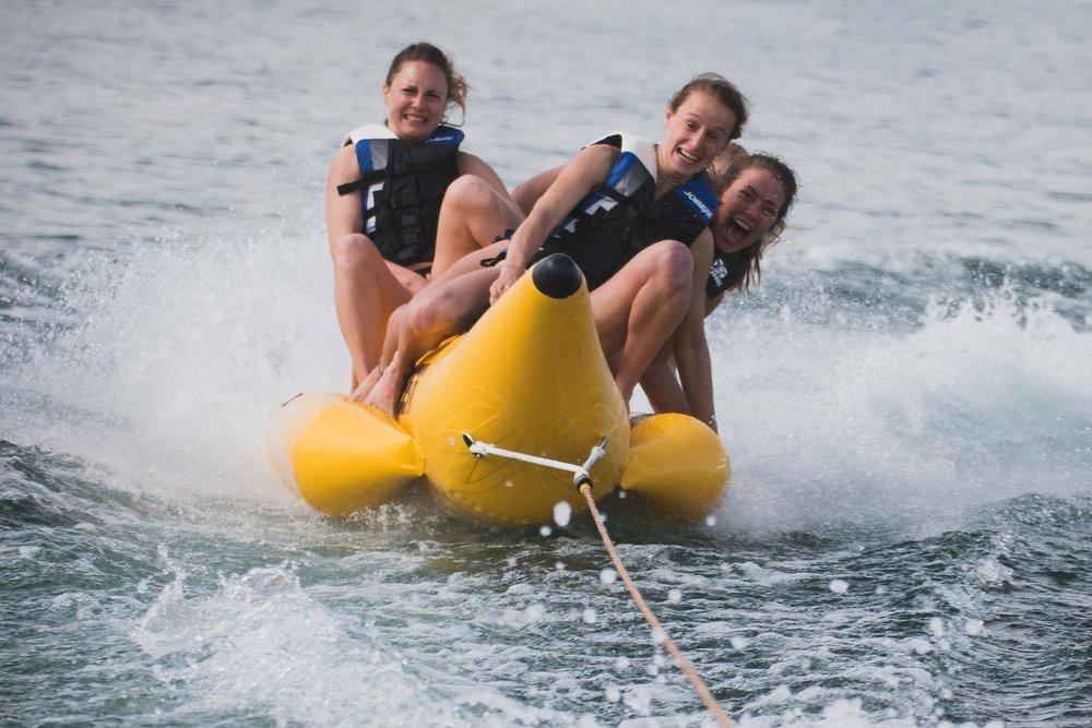 Bananenboot - für 4 Personen