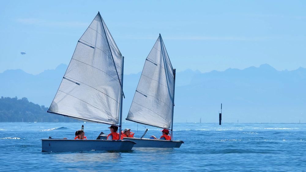 Optimist: Kindersegelboot