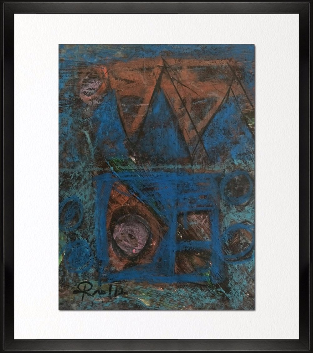 Code- CE 013, Size - 12*14 inches, Mixed media on Indian Paper