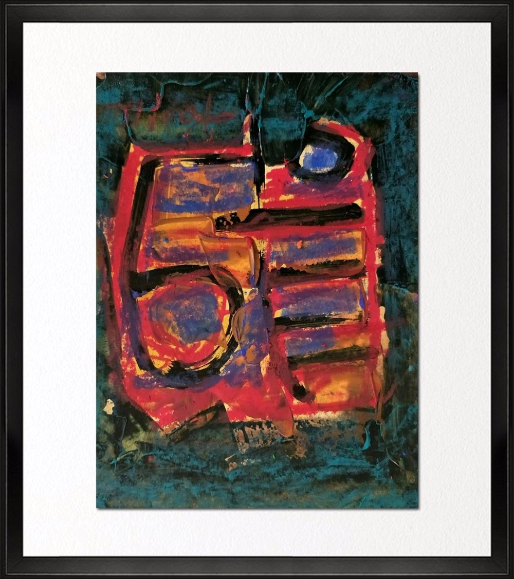 Code- CE 013, Size - 14*18 inches, Mixed media on Indian Paper