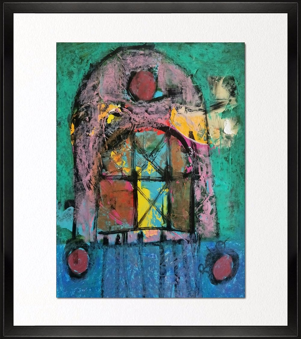 Code- CE 016, Size - 14*18 inches, Mixed media on Indian Paper