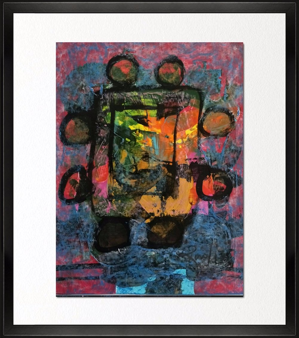 Code- CE 021, Size - 14*18 inches, Mixed media on Indian Paper