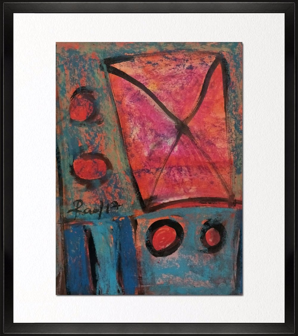 Code- CE 022, Size - 12*14 inches, Mixed media on Indian Paper