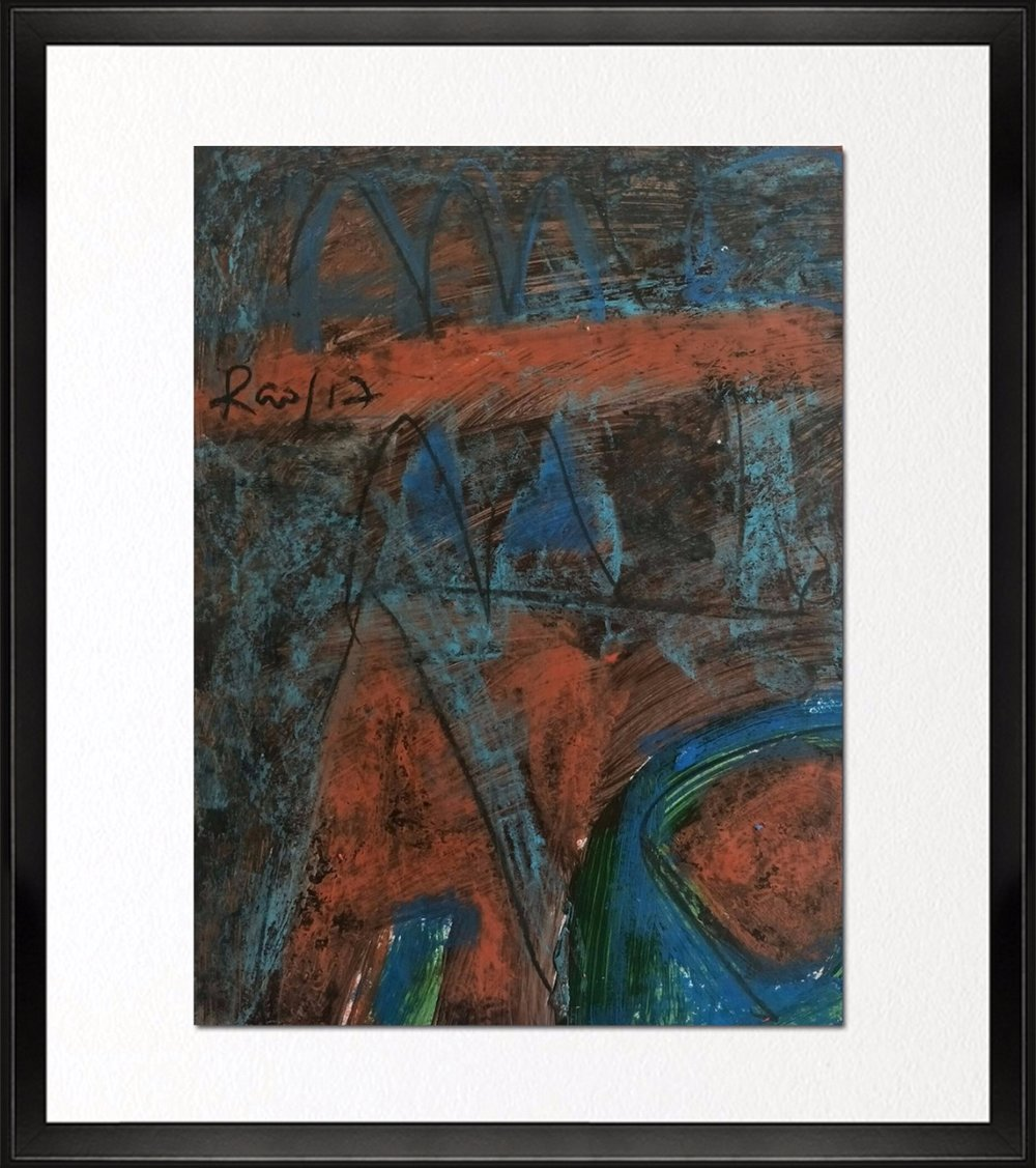 Code - CE 023, Size - 14*18 inches, Mixed media on Indian paper