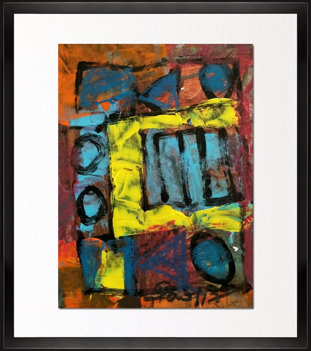 Code - CE 024,  Size - 14*18 inches, Mixed media on Indian paper