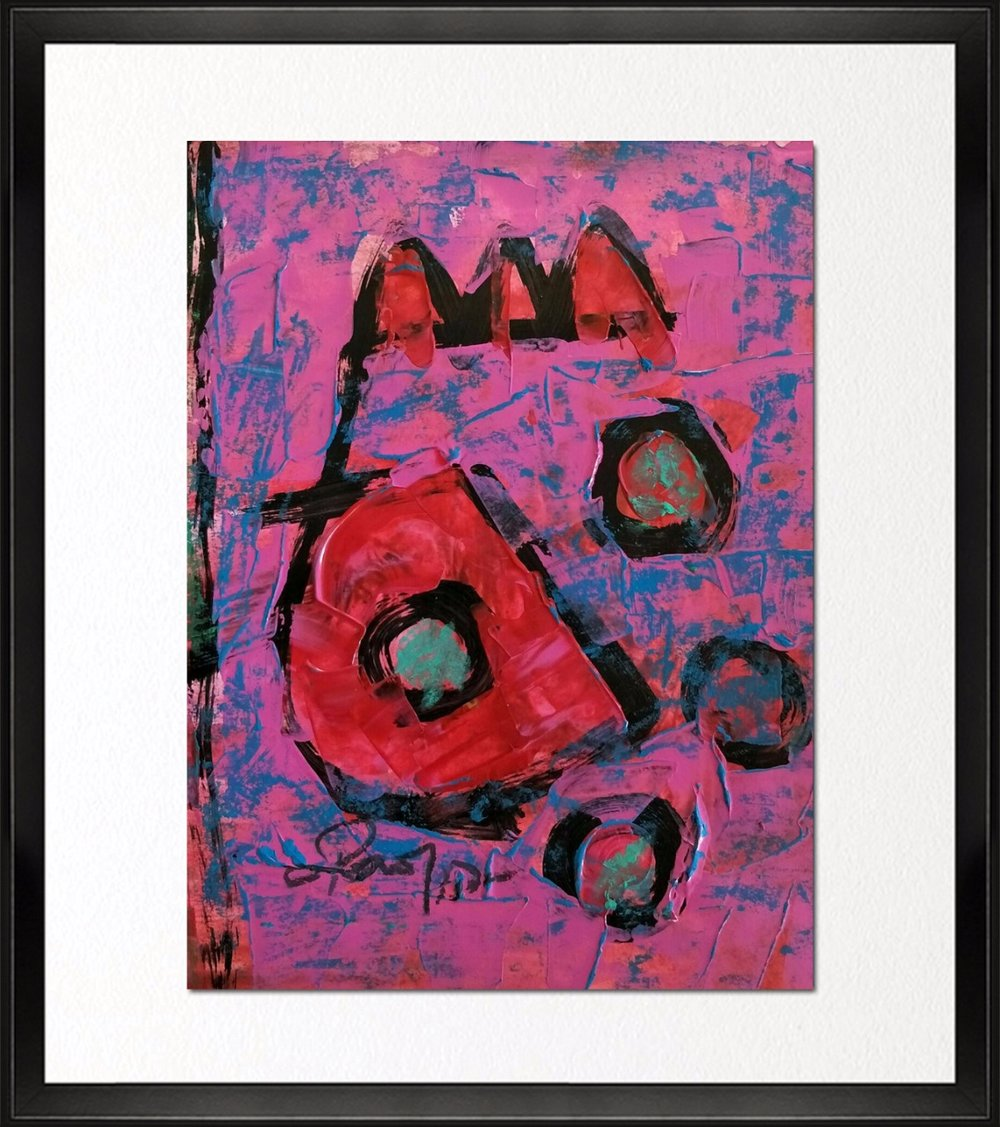 Code - CE 025, Size - 12*16 inches, Mixed media on Indian paper