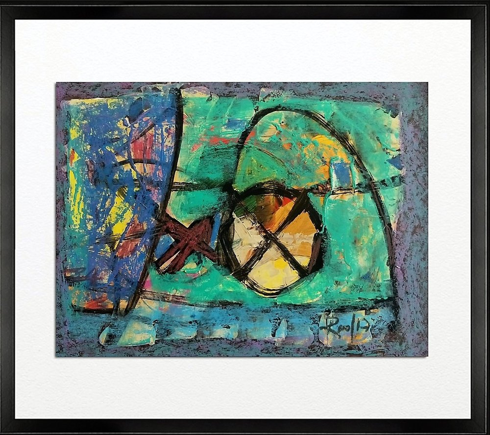 Code - CE 026, Size - 14*18 inches, Mixed media on Indian paper