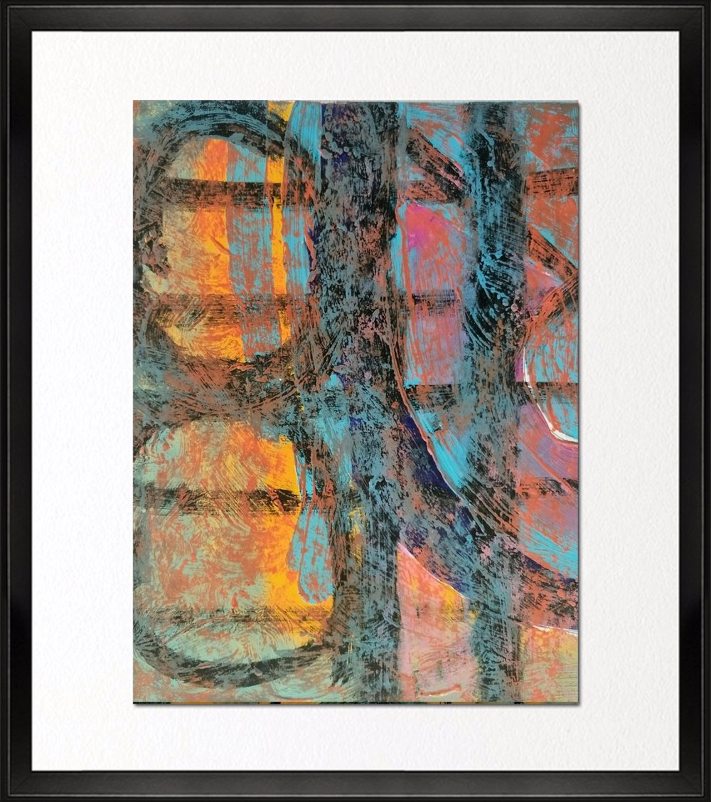Code - CE 028, Size - 14*18 inches, Mixed media on Indian paper