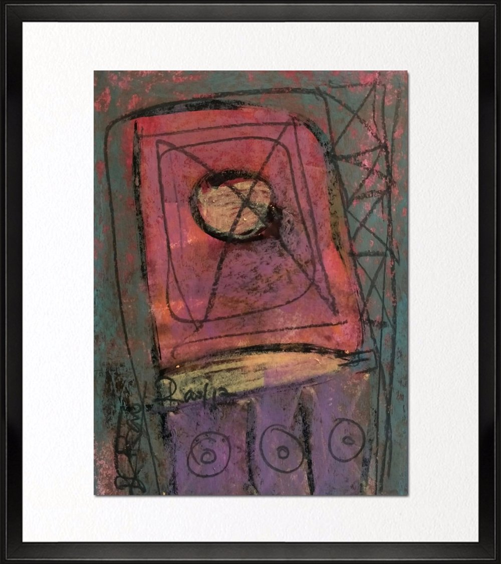 Code - CE 029, Size - 12*14 inches, Mixed media on Indian paper