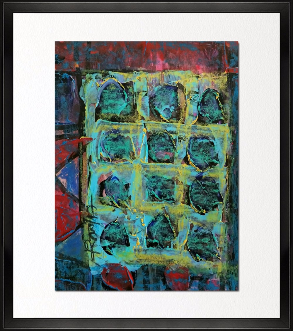 Code - CE 034, Size - 14*18 inches, Mixed media on Indian paper