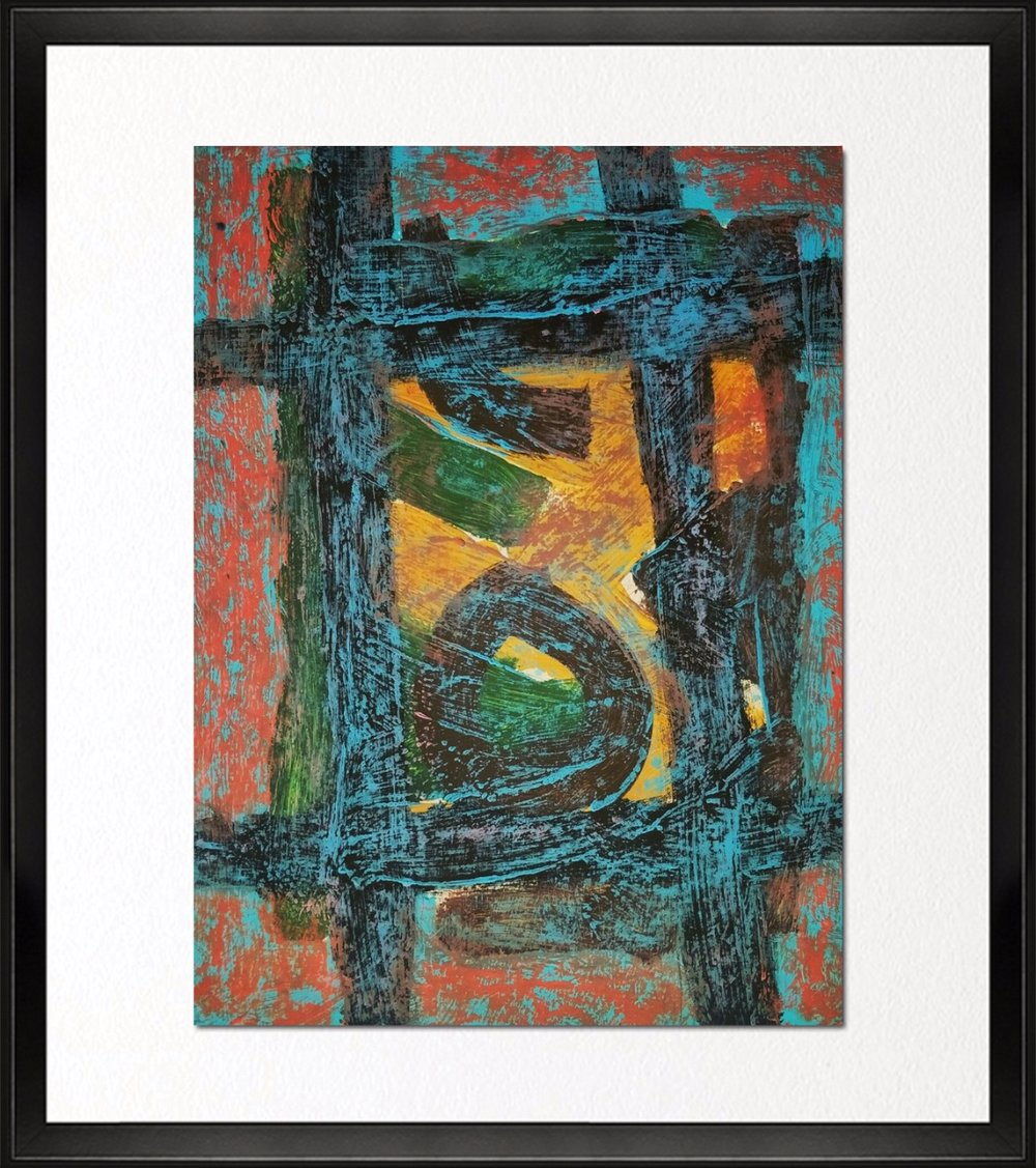 Code - CE 035, Size - 14*18 inches, Mixed media on Indian paper