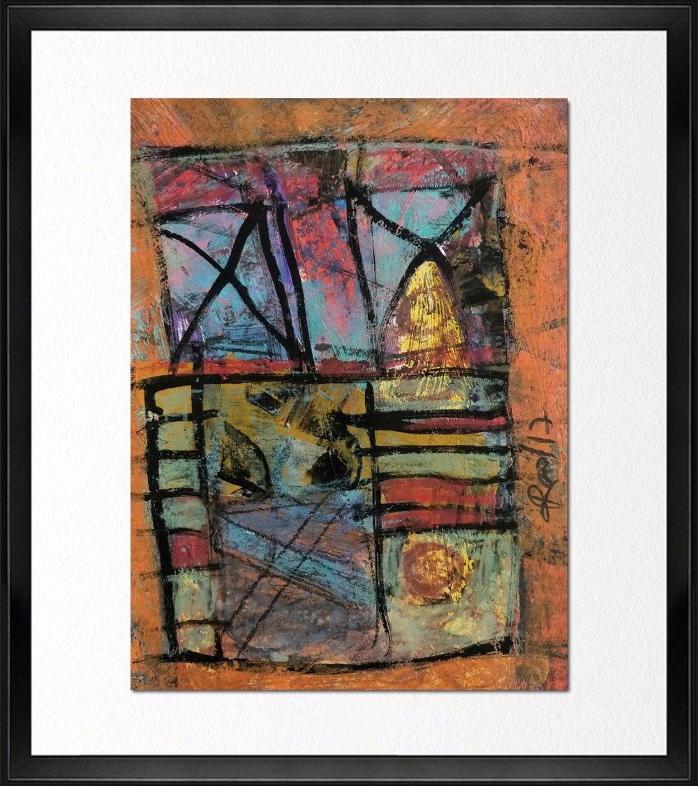 Code - CE 040, Size - 14*18 inches, Mixed media on Indian paper