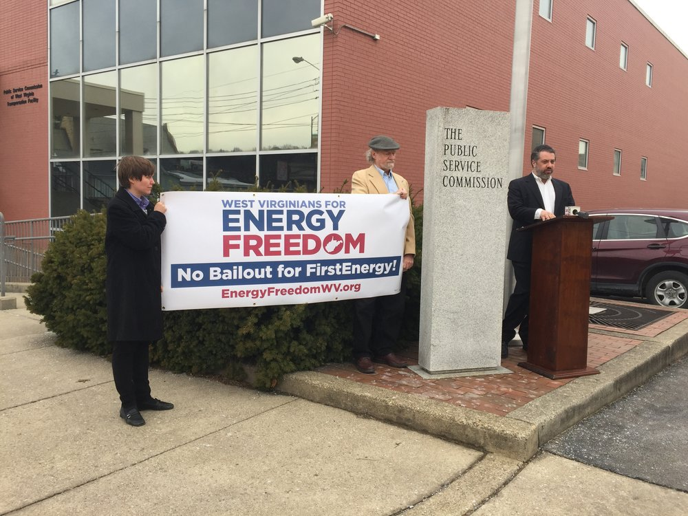 Emmett Pepper of West Virginians For Energy Freedom
