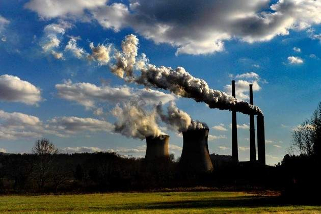 MICHAEL WILLIAMSON | Washington Post file photo. The Pleasants Power Station near St. Marys in Pleasants County