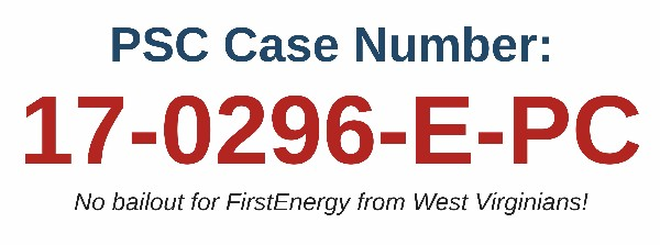 West Virginians For Energy Freedom PSC case number
