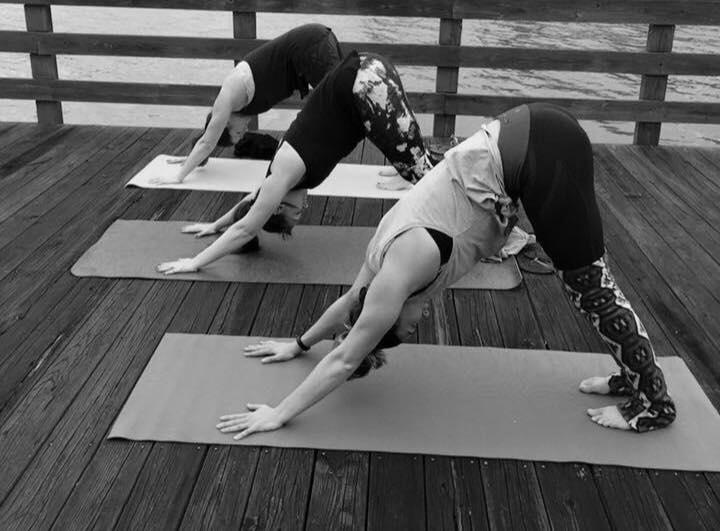 lake oconee dock yoga.jpg