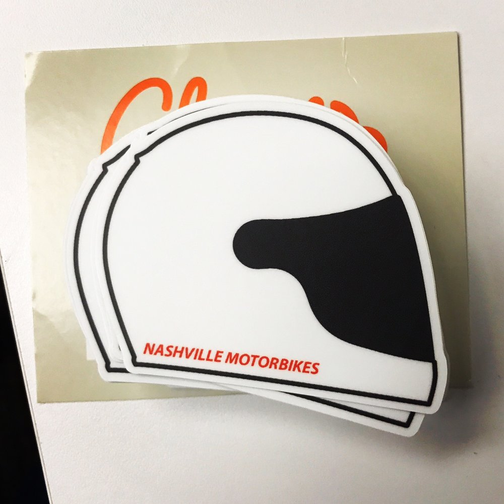 Helmet Sticker     OUT OF STOCK