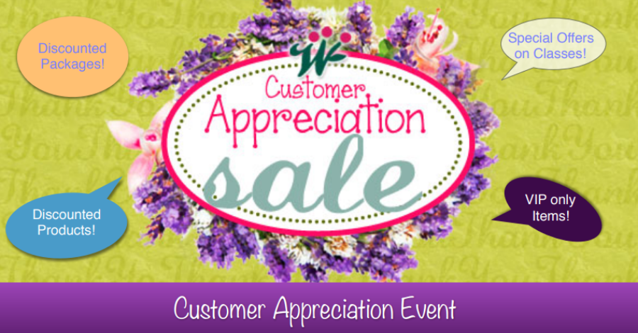 Customer Appreciation Sale starts Friday, November 2nd at 12am- Sunday, November 4th at 12pm! - Look for your Code for 20% off all Packages, Class Series, Gift Certificate, & Programs in this & next month's newsletter...Not a subscriber?email us at SeedofLifeWellnessCollective@gmail.comto be signed up for the monthly Newsletter Email!