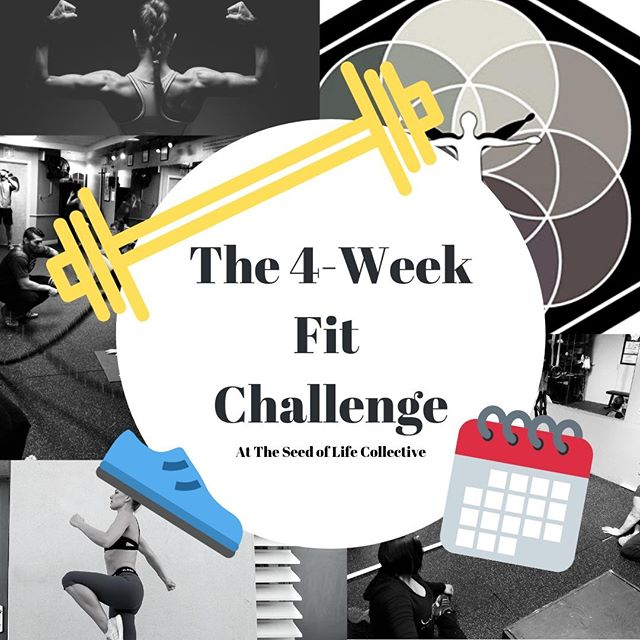 It's time for the 4-Week Fit Challenge again! Starting next Monday, March 18th! 💪  If you sign up before this Friday, you can join for the Early Bird rate! ✨  Improve your range of motion, work capacity, stamina, coordination, flexibility, balance, strength, & power in 4 Weeks with the 8 Fundamental Movements of Exercise!  These workouts are based on as many reps as possible over 4-minute cycles to do your best work every time! 🏋️♀️🏋️♂️ Do you think you're ready to make a change to better yourself? Find out! Head to our website or Facebook page for more information or to sign up! 🤩