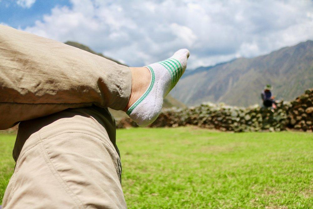 pumamarca ruins day hike - nap