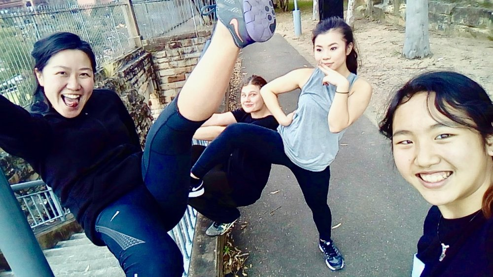 sydney parkour girls crew