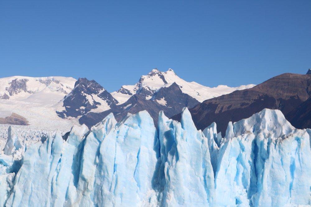 exploring patagonia glaciers
