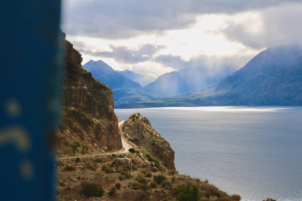 patagonia highlights - hitchhiking chile chico lago general carrera