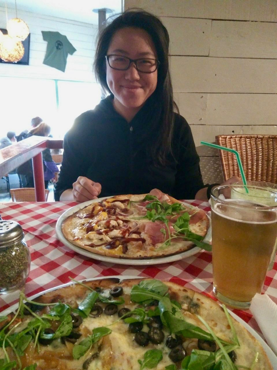 patagonia highlights - cohaique beers and pizza