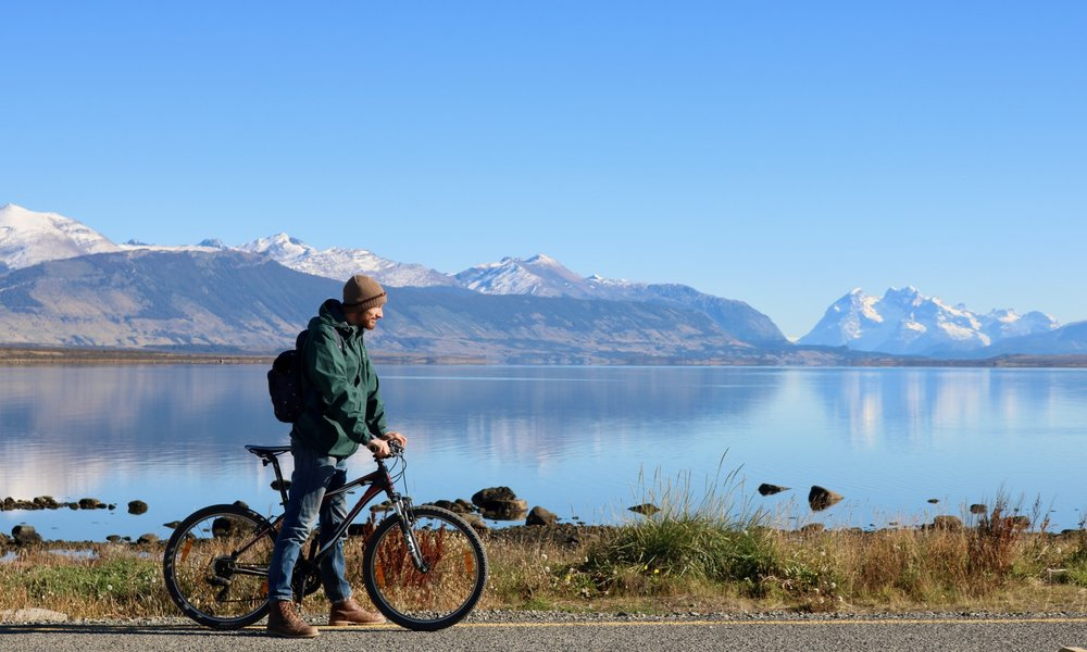patagonia highlights - mountain biking puerto natales